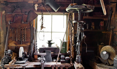 Creatives at Home: Dick Lanne and His Blacksmith's Workshop