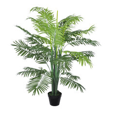 "vidaXL Artificial Phoenix Palm Tree w/ Pot 51"" Plant Potted Home Decor Patio"