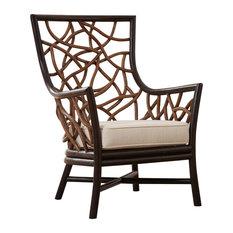 Panama Jack Trinidad Occasional Chair With Cushions, Sunbrella Canvas Natural