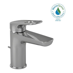 TOTO Oberon R Single Handle 1.5 GPM Bathroom Sink Faucet, Polished Chrome