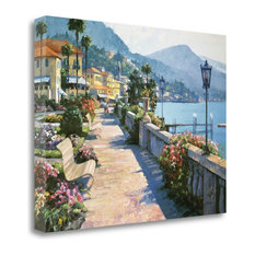 """Bellagio Promenade"" By Howard Behrens, Giclee Print on Gallery Wrap Canvas"