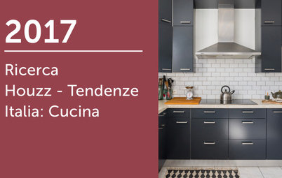 Ricerca Houzz - Tendenze Italia 2017: Cucina