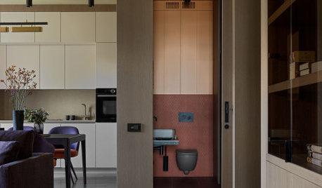 Houzz тур: Квартира в красках осени для двоих