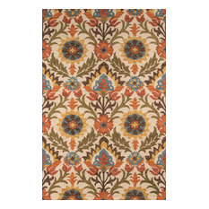 Tangier Hand-Hooked Rug, Gold, 5'x8'