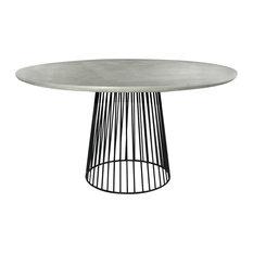 Round Concrete Table