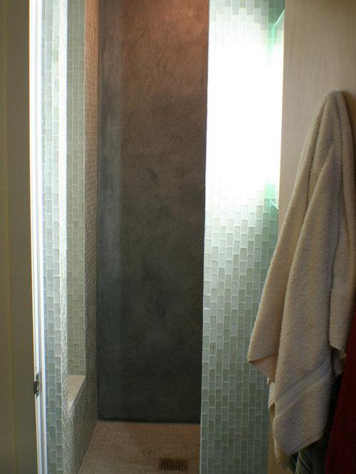 Tadelakt Shower. Vast Architecture