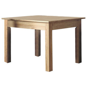 Mobel Contemporary Oak Dining Table, 4 Person