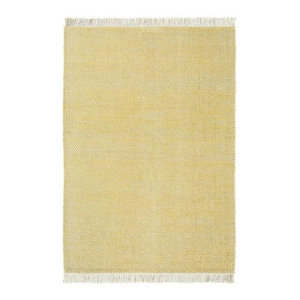 Brink and Campman Atelier Craft Rug, Yellow, 160x230 cm