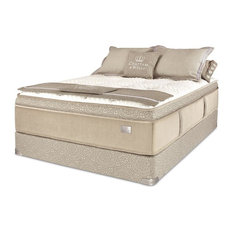 Chattam & Wells - Chattam & Wells Cal King Franklin Latex Euro Top Mattress & Low Profile Box - Mattresses