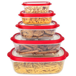 Contemporary Food Storage Containers by HOME BASICS