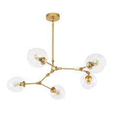 Trident 5-Light Chandelier