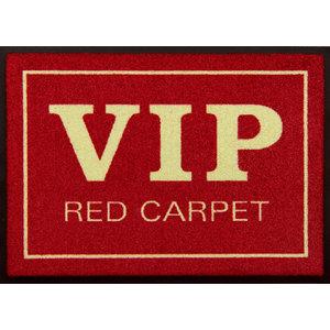 Easy Clean VIP Red Carpet Doormat