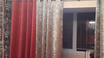 Стильные шторы для гостиной в Алексине