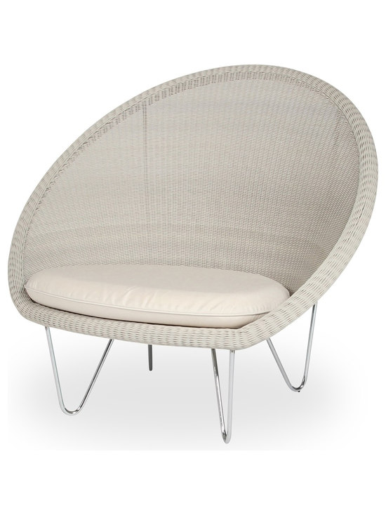 Vincent Sheppard Gipsy Cocoon Lounge Chair In Old Lace Outdoor Lounge Chairs Good Looking