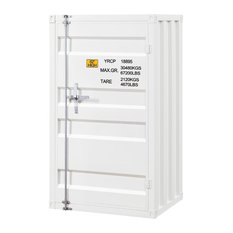 Acme Cargo Single Door Chest With White Finish 35910