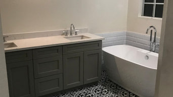 Stand alone tub, walk-in shower and sink installation - Torrance