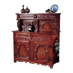 Jacobean Court Cupboard Buffet