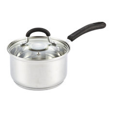 Cook N Home Stainless Steel Sauce Pan With Lid, 2 Quart