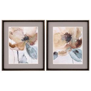 Watercolor Poppy (Set of 2) - 9104