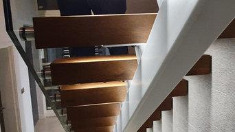 Cuckfield Mono Stringer Staircase