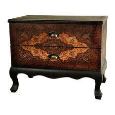 Oriental Furniture   Olde Worlde Euro Two Drawer Cabinet   Accent Chests  And Cabinets