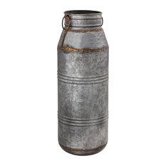 Pomeroy Mayfield Vase In Antique Galvanized 406430