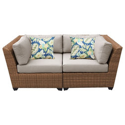 Tropical Outdoor Sofas by Cubicles