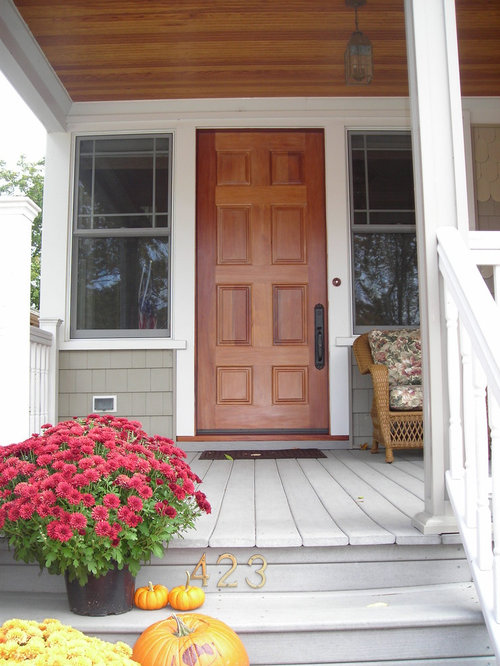 Four-Family Residence to Single-Family Home Remodel - Front Doors