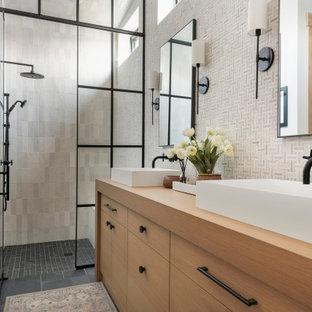 Ispirazione per una stanza da bagno stile rurale