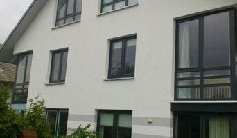 Renovierung Einfamilienhaus Fassade