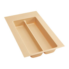 Small Almond Polymer Utility Tray