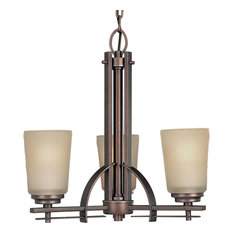 3-Light Chandelier, Heirloom