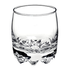 Bormioli Rocco Galassia Rocks 10 Ounce Tumbler, Set of 4