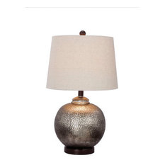 25 most popular oil rubbed bronze table lamps for 2018 houzz fangio lighting 24 antique brown mercury glass and oil rubbed bronze metal table lamp aloadofball Image collections