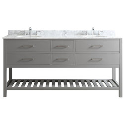 Luxury Transitional Bathroom Vanities And Sink Consoles by Vinnova