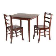 Groveland 3-Piece Set Square Dining Table With 2 Chairs