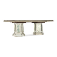 Sanctuary Grand Fete Rectangular Dining Table With 2-20-inch Leaves