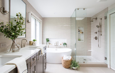 Room Tour: A Dated Bathroom is Given a Gorgeous New Look