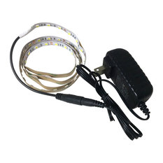 NovaBright - 12V LED Strip Under Cabinet Lighting Kit Warm White, 6000K - Undercabinet Lighting