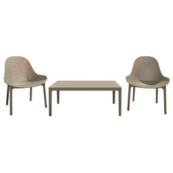 Midcentury Outdoor Lounge Sets by Compamia