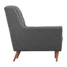 America Luxury   Modern Contemporary Fabric Sofa , Gray, Fabric   Sofas
