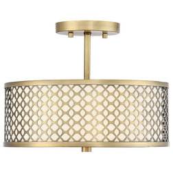 Midcentury Flush-mount Ceiling Lighting by Savoy House