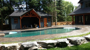 Outstanding projects by Unique Pools and Landscaping Barrie Ontario