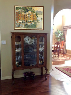 What To Do Above The China Cabinet