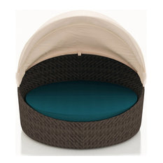 Wink Canopy Daybed, Chestnut, Spectrum Peacock
