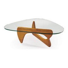 IMPORT LIGHTING U0026 FUNITURE   Coffee Table Walnut Base American Maple Finish    Coffee Tables
