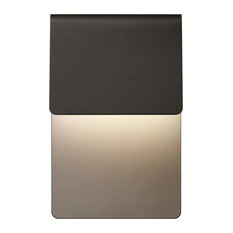 Inside-Out Ply, LED Sconce, Textured Bronze Finish
