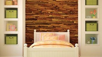 Wall paneling home