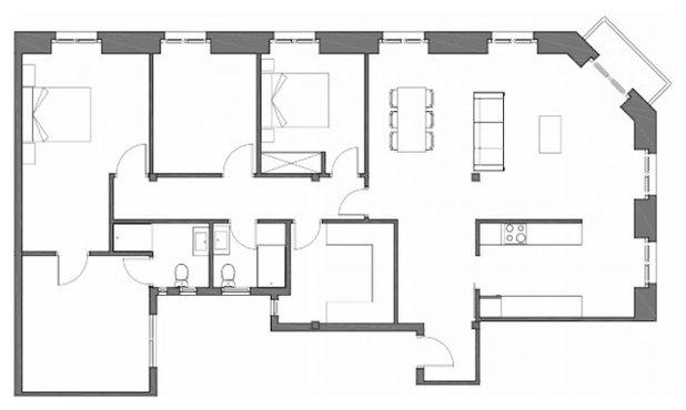 Casas Houzz: Un piso en San Sebastián con un aire tropical