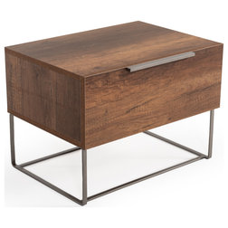 Industrial Nightstands And Bedside Tables by Vig Furniture Inc.